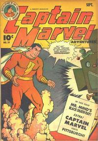 Cover Thumbnail for Captain Marvel Adventures (Fawcett, 1941 series) #39