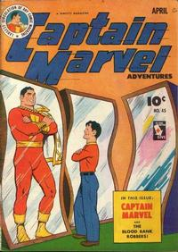 Cover Thumbnail for Captain Marvel Adventures (Fawcett, 1941 series) #45