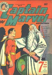 Cover Thumbnail for Captain Marvel Adventures (Fawcett, 1941 series) #47