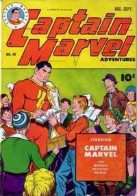 Cover Thumbnail for Captain Marvel Adventures (Fawcett, 1941 series) #48