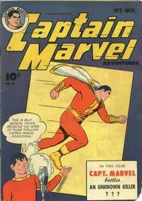 Cover Thumbnail for Captain Marvel Adventures (Fawcett, 1941 series) #49
