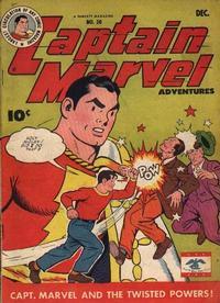 Cover Thumbnail for Captain Marvel Adventures (Fawcett, 1941 series) #50