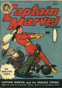 Cover Thumbnail for Captain Marvel Adventures (Fawcett, 1941 series) #55