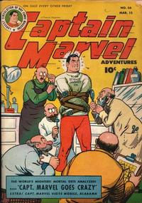 Cover Thumbnail for Captain Marvel Adventures (Fawcett, 1941 series) #56