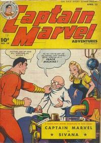 Cover Thumbnail for Captain Marvel Adventures (Fawcett, 1941 series) #58