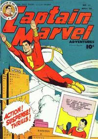 Cover for Captain Marvel Adventures (Fawcett, 1941 series) #59
