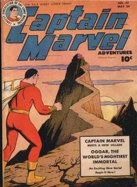 Cover Thumbnail for Captain Marvel Adventures (Fawcett, 1941 series) #61