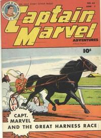 Cover Thumbnail for Captain Marvel Adventures (Fawcett, 1941 series) #62
