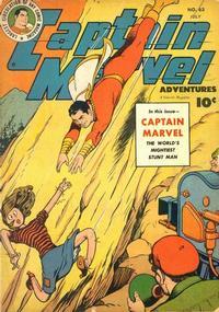 Cover Thumbnail for Captain Marvel Adventures (Fawcett, 1941 series) #63
