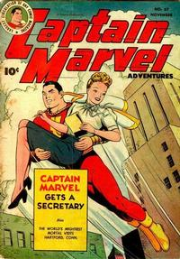 Cover Thumbnail for Captain Marvel Adventures (Fawcett, 1941 series) #67