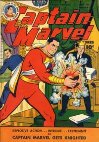 Cover Thumbnail for Captain Marvel Adventures (Fawcett, 1941 series) #69