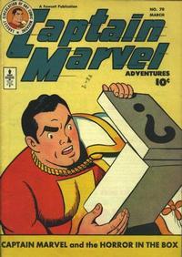 Cover Thumbnail for Captain Marvel Adventures (Fawcett, 1941 series) #70