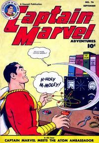Cover Thumbnail for Captain Marvel Adventures (Fawcett, 1941 series) #76