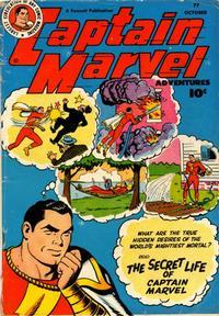 Cover Thumbnail for Captain Marvel Adventures (Fawcett, 1941 series) #77