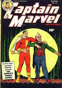 Cover Thumbnail for Captain Marvel Adventures (Fawcett, 1941 series) #79
