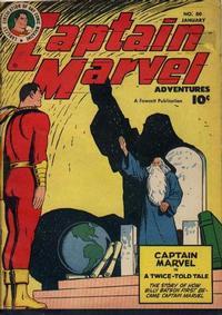 Cover Thumbnail for Captain Marvel Adventures (Fawcett, 1941 series) #80