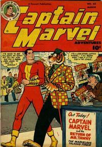 Cover Thumbnail for Captain Marvel Adventures (Fawcett, 1941 series) #82
