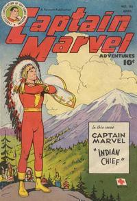 Cover Thumbnail for Captain Marvel Adventures (Fawcett, 1941 series) #83