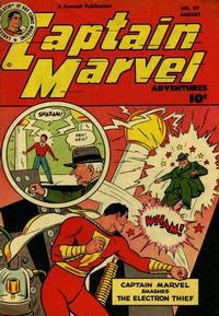 Cover Thumbnail for Captain Marvel Adventures (Fawcett, 1941 series) #87