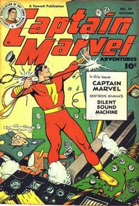 Cover Thumbnail for Captain Marvel Adventures (Fawcett, 1941 series) #89
