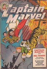 Cover Thumbnail for Captain Marvel Adventures (Fawcett, 1941 series) #90