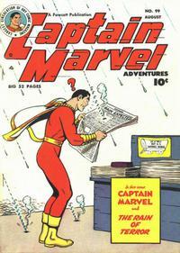 Cover Thumbnail for Captain Marvel Adventures (Fawcett, 1941 series) #99