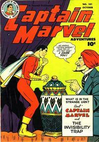 Cover Thumbnail for Captain Marvel Adventures (Fawcett, 1941 series) #101