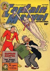 Cover Thumbnail for Captain Marvel Adventures (Fawcett, 1941 series) #102
