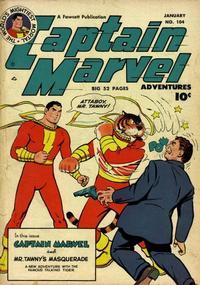 Cover Thumbnail for Captain Marvel Adventures (Fawcett, 1941 series) #104