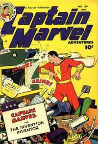 Cover Thumbnail for Captain Marvel Adventures (Fawcett, 1941 series) #109