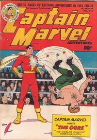 Cover Thumbnail for Captain Marvel Adventures (Fawcett, 1941 series) #114