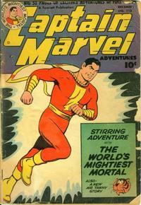Cover Thumbnail for Captain Marvel Adventures (Fawcett, 1941 series) #115