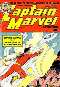 Cover Thumbnail for Captain Marvel Adventures (Fawcett, 1941 series) #116