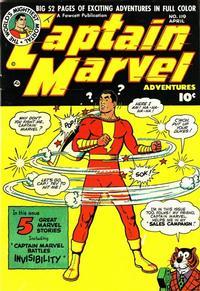 Cover Thumbnail for Captain Marvel Adventures (Fawcett, 1941 series) #119