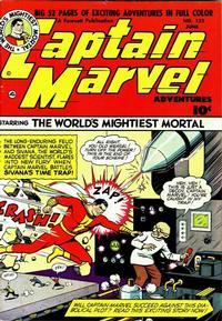 Cover Thumbnail for Captain Marvel Adventures (Fawcett, 1941 series) #121