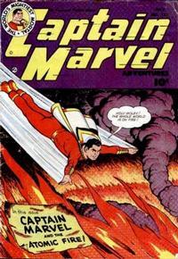 Cover Thumbnail for Captain Marvel Adventures (Fawcett, 1941 series) #122