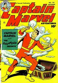 Cover Thumbnail for Captain Marvel Adventures (Fawcett, 1941 series) #124