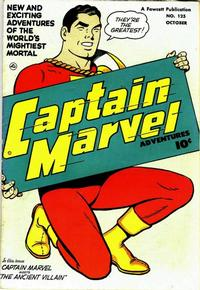 Cover Thumbnail for Captain Marvel Adventures (Fawcett, 1941 series) #125