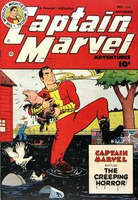 Cover Thumbnail for Captain Marvel Adventures (Fawcett, 1941 series) #126