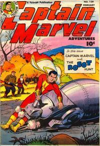 Cover Thumbnail for Captain Marvel Adventures (Fawcett, 1941 series) #129