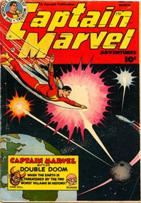 Cover Thumbnail for Captain Marvel Adventures (Fawcett, 1941 series) #130