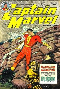 Cover Thumbnail for Captain Marvel Adventures (Fawcett, 1941 series) #132