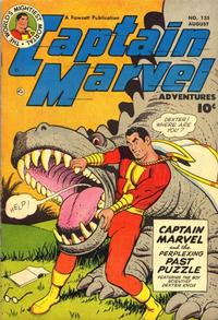 Cover Thumbnail for Captain Marvel Adventures (Fawcett, 1941 series) #135
