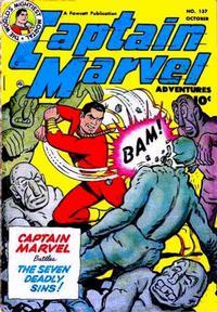 Cover Thumbnail for Captain Marvel Adventures (Fawcett, 1941 series) #137