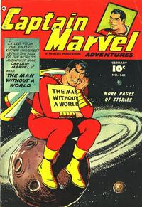 Cover Thumbnail for Captain Marvel Adventures (Fawcett, 1941 series) #141