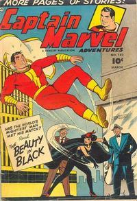 Cover Thumbnail for Captain Marvel Adventures (Fawcett, 1941 series) #142