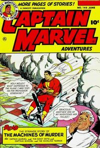 Cover Thumbnail for Captain Marvel Adventures (Fawcett, 1941 series) #145