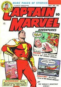 Cover Thumbnail for Captain Marvel Adventures (Fawcett, 1941 series) #146