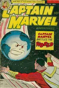 Cover Thumbnail for Captain Marvel Adventures (Fawcett, 1941 series) #148