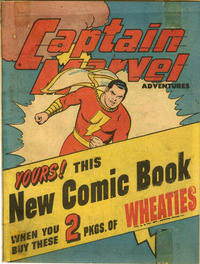 Cover Thumbnail for Captain Marvel Adventures [Wheaties Miniature Edition] (Fawcett, 1945 series) #1